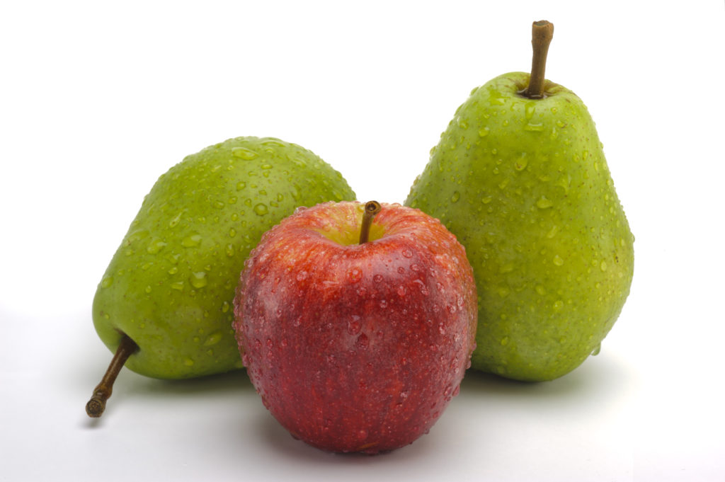 which is better: apple or pear
