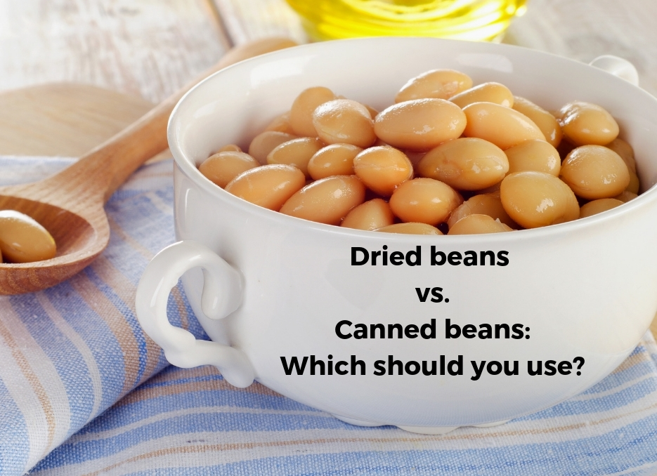 white bowl with cooked beans