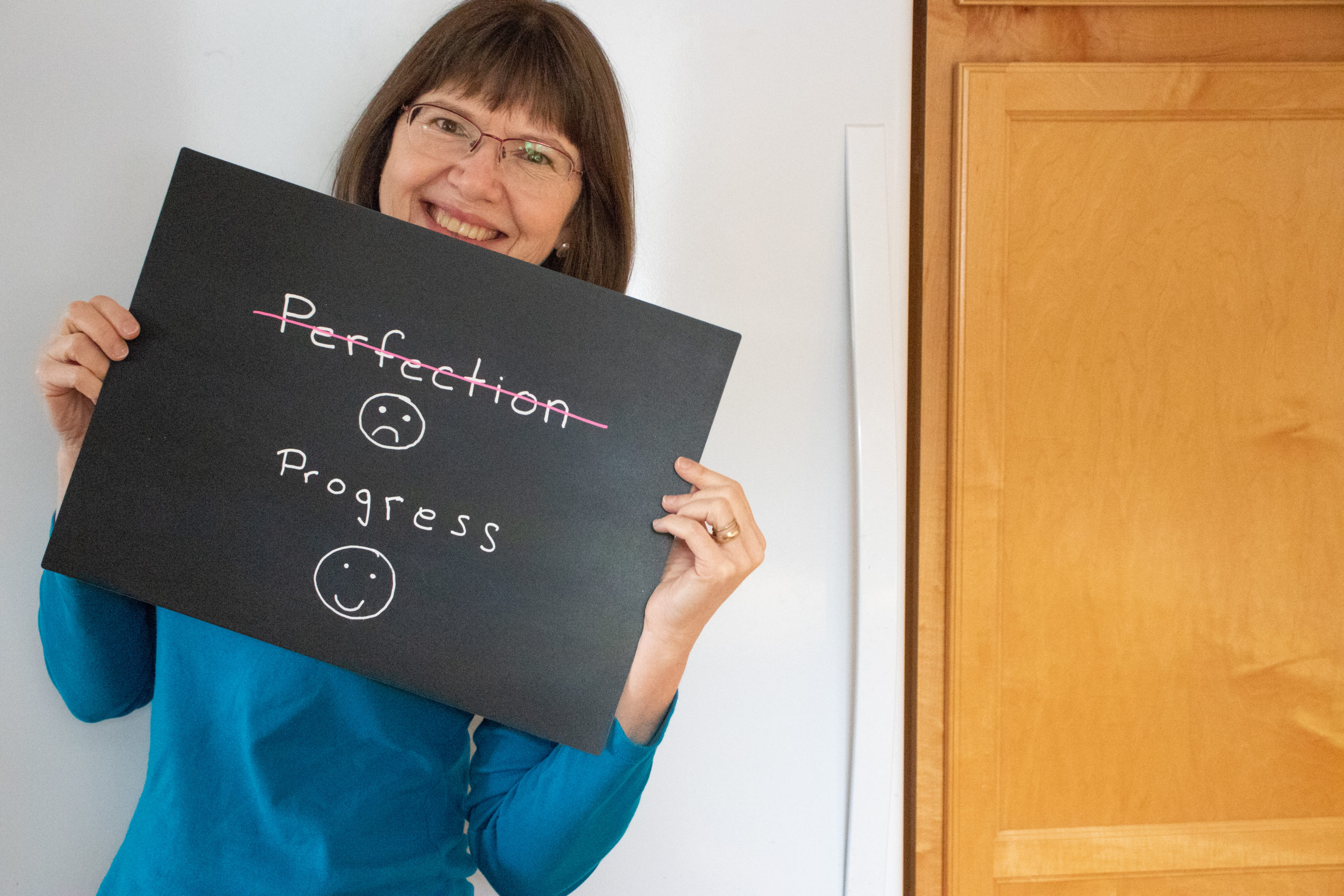 self-sabotage not is focusing on perfection instead of porgress
